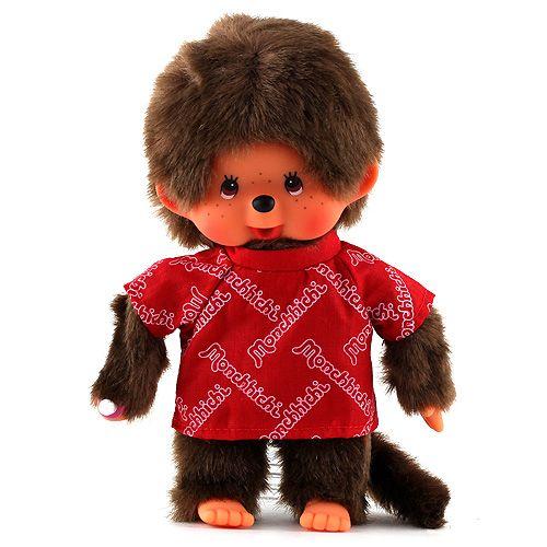 Monchhichi Kluk v červeném triku cena od 427 Kč