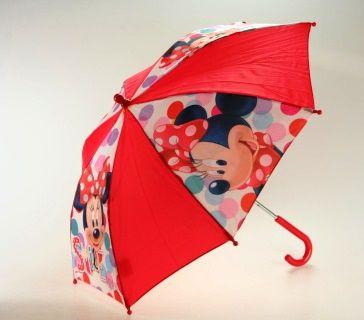 DISNEY Minnie puntíky deštník