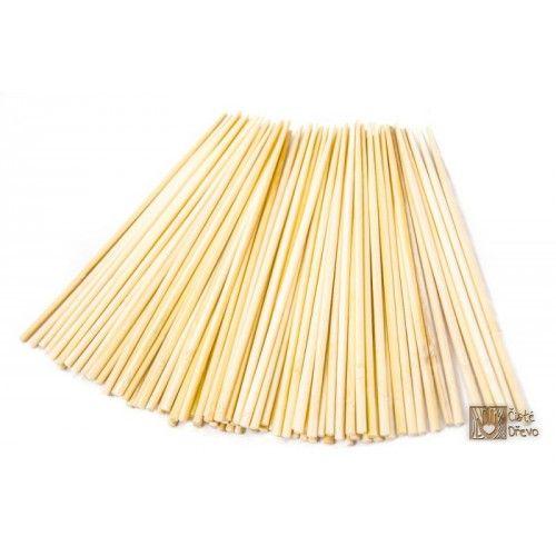ČistéDřevo Jídelní hůlky světlé 100 ks cena od 19 Kč