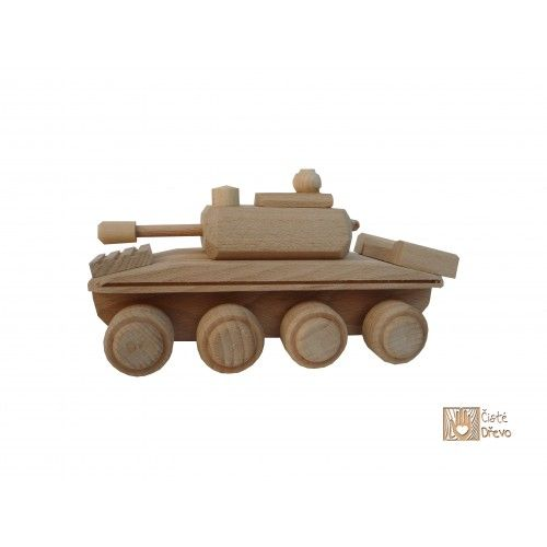 ČistéDřevo Dřevěný tank H006 cena od 199 Kč