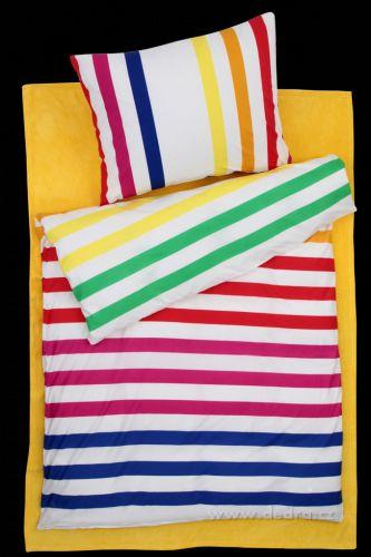 Dedra Multicolor stripes 2 dílná ložní souprava