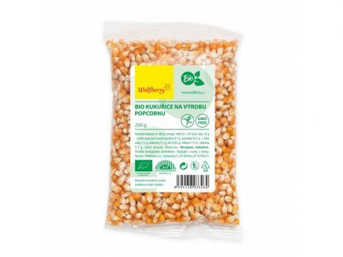 wolfberry Kukuřice na popcorn bio 250 g cena od 35 Kč