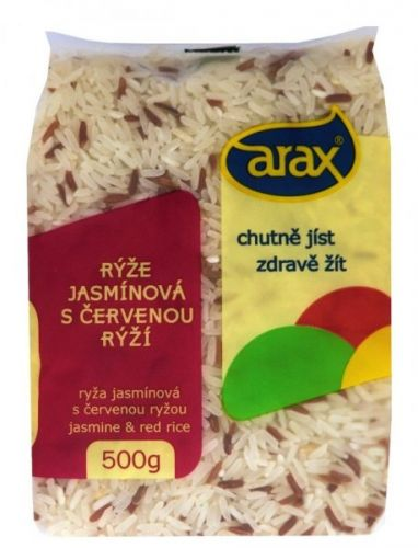 Arax Jasmínová s červenou rýží 5 kg