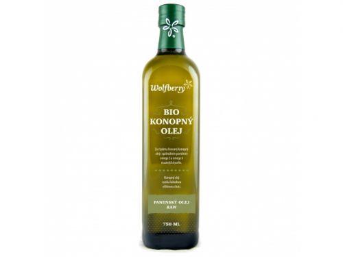 wolfberry bio konopný olej 750 ml