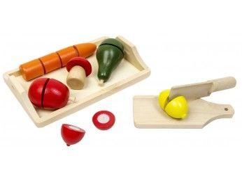 Glow2B Spielwaren Dřevěné ovoce a zelenina