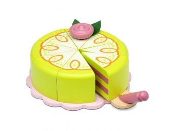 Micki Leksaker dřevěný dort pro princezny