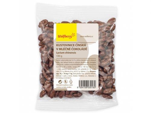 wolfberry Goji v mléčné čokoládě 100 g cena od 0 Kč