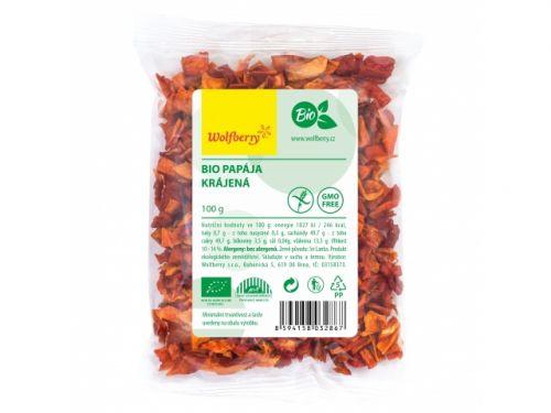 wolfberry Papája krájená bio 100 g