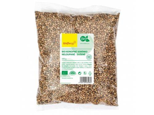 wolfberry Konopné semínko neloupané bio 500 g