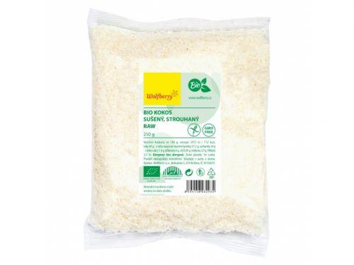 wolfberry Kokos strouhaný bio 250 g cena od 62 Kč
