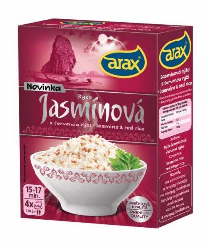 Arax Jasmínová s červenou rýží 480 g