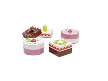 Micki Leksaker dřevěné dortíčky
