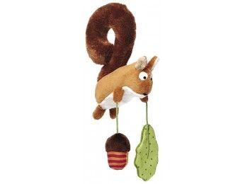 Sigikid VEVERKA - hračka na autosedačku 26 cm cena od 420 Kč