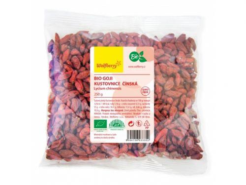 wolfberry bio goji kustovnice čínská 250 g cena od 139 Kč