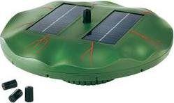 esotec Solární sada plovoucí ostrůvek s vodotryskem