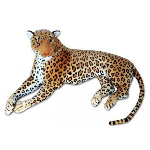 Lena Toys Velký plyšový levhart hnědý 200 cm cena od 1390 Kč