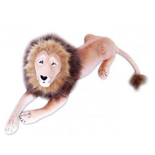 LENA TOYS plyšový lev 180 cm