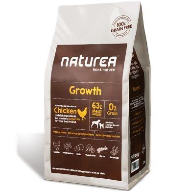 Naturea Grain Free Growth Puppy All Breeds 12 kg