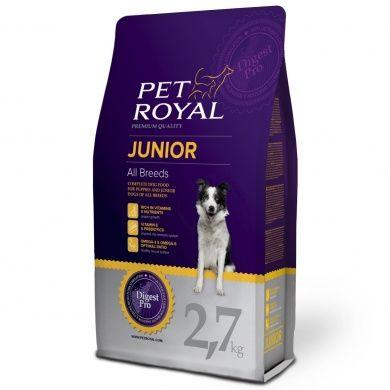 Pet Royal Junior Dog 2,7 kg