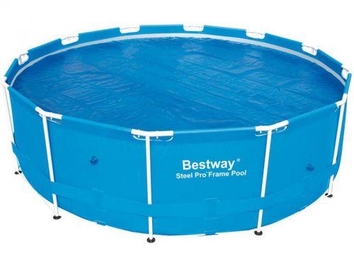 Bestway Solární plachta na bazén s konstrukcí 366 cm