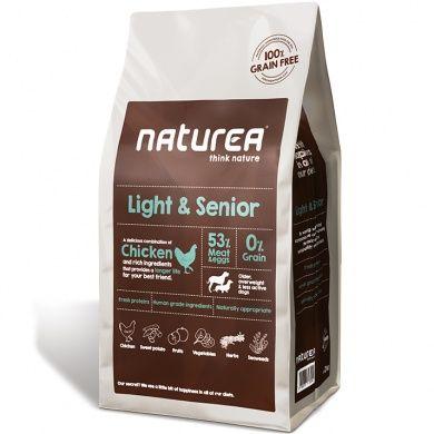 Naturea Grain Free Light & Senior all breeds 12 kg