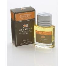 St James of London Mandarin & Patchouli olej před holením 50 ml