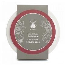 Mühle Sandalwood mýdlo na holení v porcelánové misce