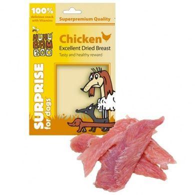 HUHUBamboo sušená kuřecí prsa 75 g