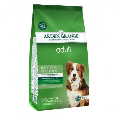 Arden Grange Adult Lamb & Rice 6 kg cena od 644 Kč