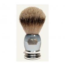 Hans Baier Hans Baier Aqua Acryl/Chrome Silvertip štětka na holení