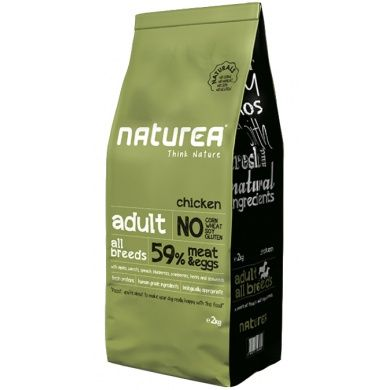 Naturea Naturals Adult Chicken 2 kg cena od 259 Kč