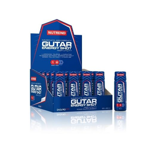 XXL obrazek NUTREND Gutar Energy Shot 60 ml