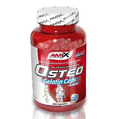 Amix Nutrition Osteo Gelatin + MSM 400 kapslí