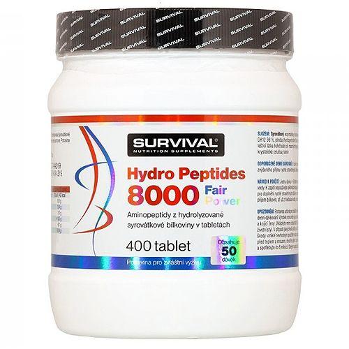 Survival Hydro Peptides 8000 Fair Power 400 tablet
