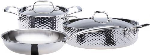 STEIN Sada nerez nádobí tepaná 5 dílná cena od 6290 Kč