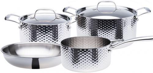 STEIN Sada nerez nádobí tepaná 6 dílná cena od 7790 Kč