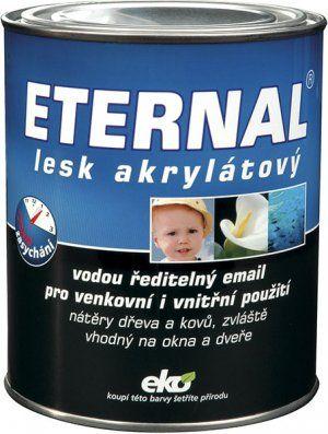 AUSTIS ETERNAL lesk akrylátový bílý RAL 9003 0,7 kg