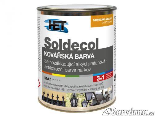 HET Soldecol Kovářská Barva černá 2,5 l