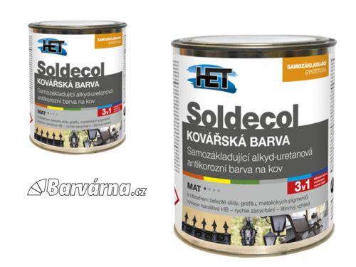 HET Soldecol Kovářská Barva černá 0,75 l