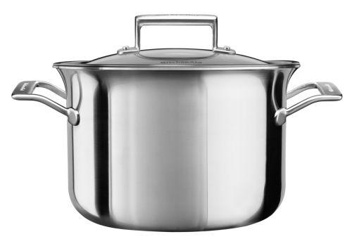 KitchenAid Kastrol nerezový s poklicí 7,6 l cena od 4190 Kč