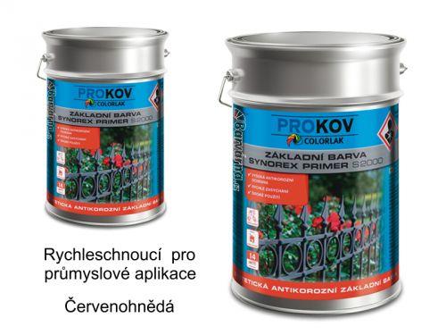 COLORLAK Synorex primer S 2000 P 0840 červenohnědá 10 kg