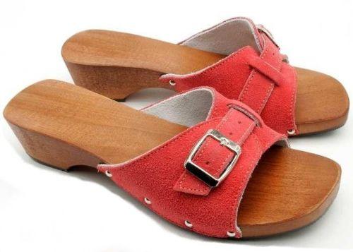 Buxa Dřevěné pantofle