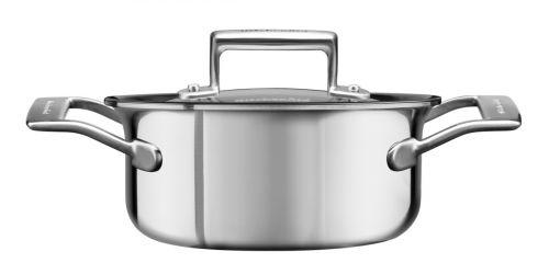 KitchenAid Kastrol nerezový s poklicí 1,5 l cena od 4190 Kč