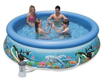 Intex 12FT X 30IN Ocean Reef Easy set Pool