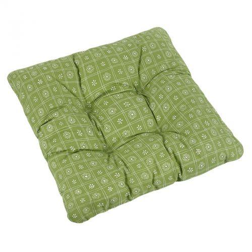 Bellatex Adéla Čtverce zelený sedák