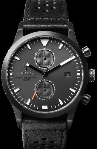 TRIWA Sort of Black Glow Chrono