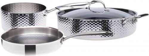 STEIN Sada nádobí 3vrstvá nerezová 4 dílná cena od 6190 Kč
