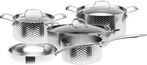 STEIN Sada nádobí 3vrstvá nerezová 8 dílná cena od 10290 Kč