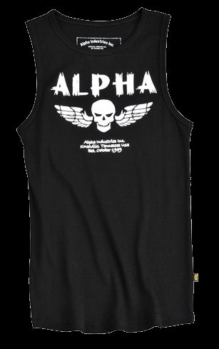 Alpha Industries Skull Tank tílko
