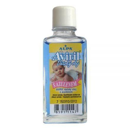 Aviril dětský olej s azulenem 50 ml cena od 22 Kč